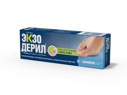 Экзодерил, 1%, крем для наружного применения, 30 г, 1шт.