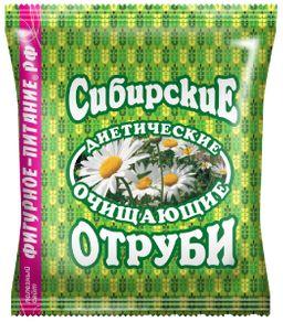 Сибирские отруби пшеничные очищающие