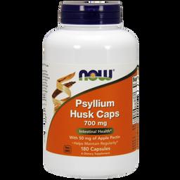 NOW Psyllium Husk Caps, 700 мг, капсулы, 180шт.
