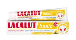 Lacalut Basic Зубная паста цитрусовый, паста зубная, 75 мл, 1шт.
