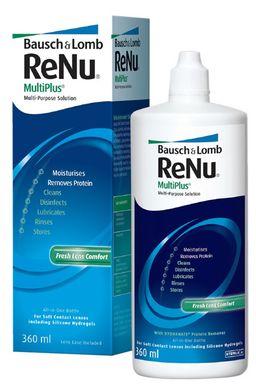 ReNu Multi Plus, раствор для обработки и хранения мягких контактных линз, 360 мл, 1 шт.