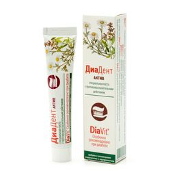 ДиаДент Актив зубная паста лечебно-профилактическая