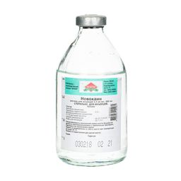 Новокаин, 2.5 мг/мл, раствор для инъекций, 200 мл, 1 шт.