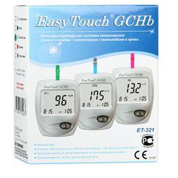 EasyTouch GCHB ET-321 анализатор крови Глюкоза Холестерин Гемоглобин, арт. MG304-3E, 1 шт.