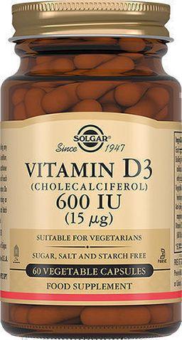 Solgar Витамин D3 600 МЕ