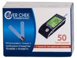 Тест-полоски Clever Chek TD-4227A