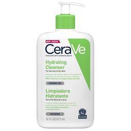 CeraVe Увлажняющий очищающий крем-гель для лица и тела, крем-гель, 473 мл, 1 шт.
