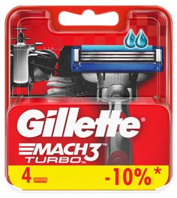 Gillette Mach 3 Turbo Кассеты