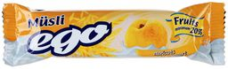 EGO Батончик мюсли абрикос в йогурте, 25 г, 1 шт.