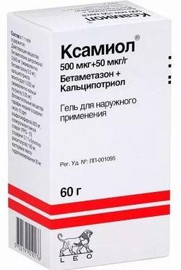 Ксамиол, гель для наружного применения, 60 г, 1 шт.