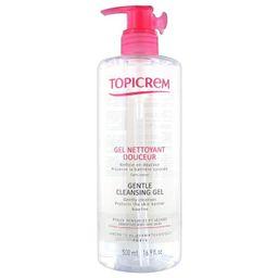 Topicrem Мягкий очищающий гель для лица, тела и волос, гель, 500 мл, 1 шт.