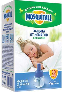 Mosquitall Нежная защита для детей жидкость для фумигатора, раствор инсектицидный, для фумигатора, 30 мл, 1шт.