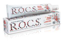 ROCS Зубная паста Ветка сакуры, без фтора, паста зубная, со вкусом мяты, 74 г, 1шт.