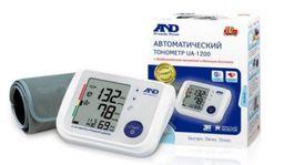 Тонометр автоматический AND UA-1200, с адаптером и стандартной манжетой (22-32 см), 1 шт.
