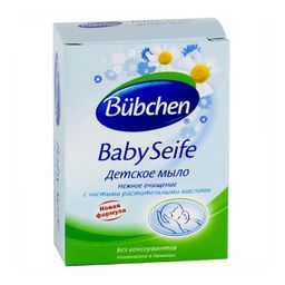 Bubchen Мыло детское, мыло детское, ромашка, 125 г, 1 шт.