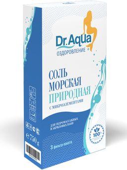 Dr Aqua Соль для ванн морская природная