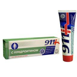 911 гель-бальзам с хондроитином, гель-бальзам, 100 мл, 1 шт.