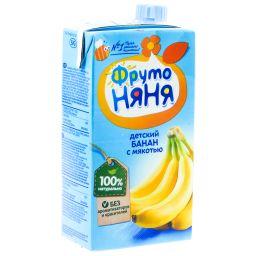 Фрутоняня нектар с мякотью Банан