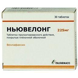 Ньювелонг, 225 мг, таблетки, 30 шт.