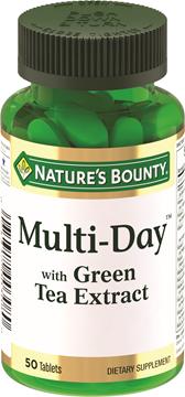 Мультидэй с экстрактом зеленого чая Витаминный комплекс