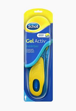 Scholl GelActiv Everyday стельки для комфорта на каждый день для мужчин