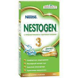 Nestogen 3, для детей с 12 месяцев, напиток молочный сухой, с пребиотиками и лактобактериями, 350 г, 1шт.