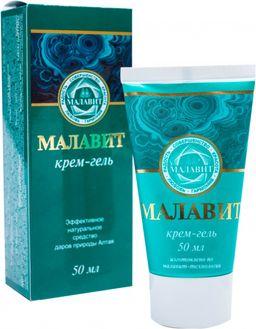 Малавит крем-гель, 50 мл, 1шт.