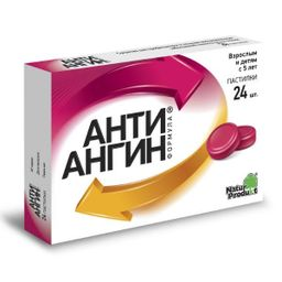 Анти-Ангин Формула, пастилки, 24 шт.