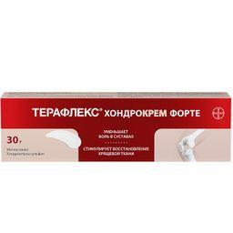 Терафлекс Хондрокрем Форте, 1% + 5%, крем для наружного применения, 30 г, 1 шт.