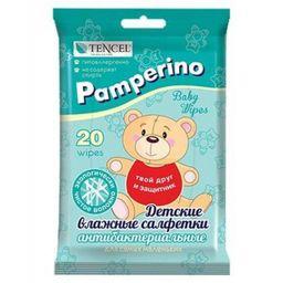 Pamperino салфетки влажные детские антибактериальные