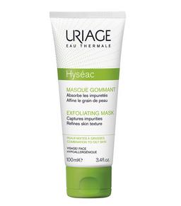 Uriage Hyseac Маска отшелушивающая, маска для лица, 100 мл, 1 шт.