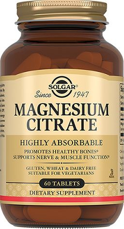 Solgar Цитрат Магния, таблетки, 60 шт.