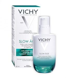 Vichy Slow Age флюид для всех типов кожи, крем для лица, 50 мл, 1 шт.