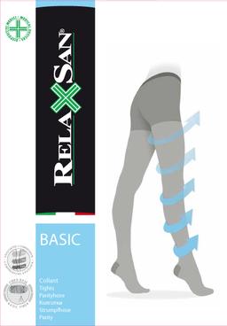 Relaxsan Collant Колготки профилактика 70 DEN, р. 5, арт. 780 (12-17 mm Hg), 70 DEN (черные), 1 шт.