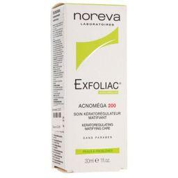 Noreva Exfoliac Acnomega 200, крем для лица, 30 мл, 1шт.