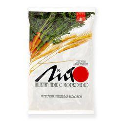 Лито отруби пшеничные хрустящие, гранулы, с морковью, 200 г, 1 шт.