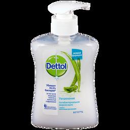 Dettol Мыло жидкое для рук Антибактериальное алоэ и молочные протеины, мыло жидкое, 250 мл, 1 шт.