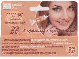 Следоцид Тональный Антикомедогенный ВВ крем, крем для лица, 15 мл, 1 шт.