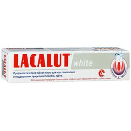 Lacalut White Зубная паста, паста зубная, 75 мл, 1 шт.