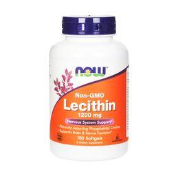 NOW Лецитин тройная сила, 1200 мг, капсулы, 100шт.