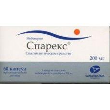 Спарекс, 200 мг, капсулы пролонгированного действия, 60 шт.