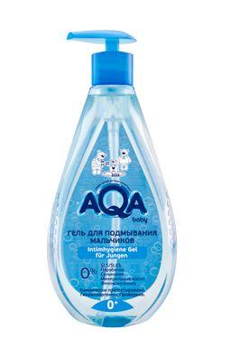 AQA baby гель для подмывания мальчиков