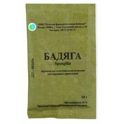 Бадяга, порошок для приготовления суспензии для наружного применения, 10 г, 1шт.