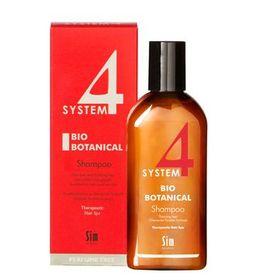 System 4 Биоботанический шампунь против выпадения волос, шампунь, 215 мл, 1шт.