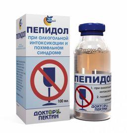 Пепидол Пэг, 5%, раствор для приема внутрь, 100 мл, 1 шт.