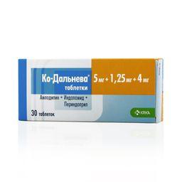 Ко-Дальнева, 5 мг+1.25 мг+4 мг, таблетки, 30 шт.