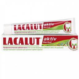 Lacalut Aktiv Herbal Зубная паста, паста зубная, 50 мл, 1 шт.