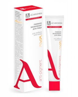 Achromin гоммаж-эксфолиант для лица, 75 мл, 1 шт.