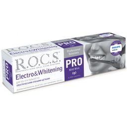 ROCS PRO Зубная паста Electro whitening, без фтора, паста зубная, 135 г, 1 шт.