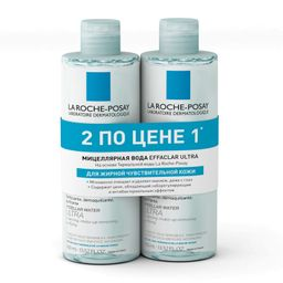 La Roche-Posay Effaclar Ultra мицеллярная вода, мицеллярная вода, 400 мл, 2шт.